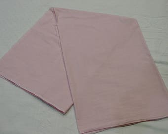 """Vintage Cotton Fabric Solid Pink, 35"""" Wide 1 Yard 11"""" Quilting, Crafts"""