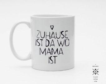 Ξ cupcup | tasse | mama zuhause | muttertag | familie | geschenk | mama und papa