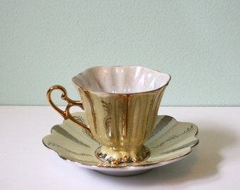 Nice mid-century teacup and saucer