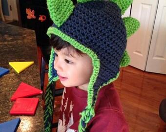 Crochet Dinosaur Hat, Crochet Dinosaur Beanie, Dinosaur Hat, Dinosaur Beanie, Dino Hat, Dino Beanie, Dino Costume, Mohawk