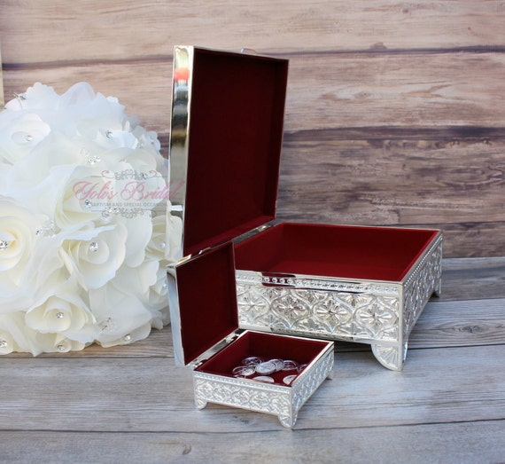 Arras And Lasso Box Set Treasure Chest For Wedding Rings Or Unity Coins