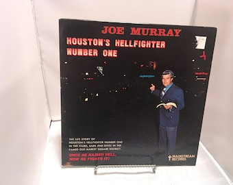 "Evangelist Joe Murray Houston's Hellfighter #1 33 12"" Vinyl"