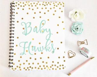 Pregnancy diary, pregnancy journal, pregnancy planner, maternity planner, maternity gift, pregnancy tracker, pregnancy countdown,