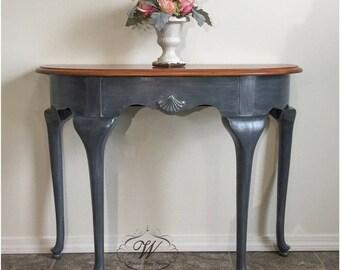Elegant Foyer Name : Foyer table etsy