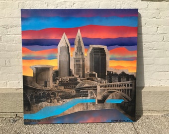 CLE GRAFF No. 32 on Canvas 36 x 36