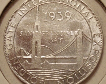 1939 Golden Gate Int'l Expo Medal