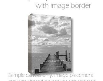 B&W Art-Ocean Photography-Canvas Art-Coastal Art-Beach Wall Art-Fine Art Photography-Nautical Wall Decor-8x10/11x14/16x20/20x30/24x36/30x40