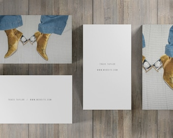 Simple Business Card, Minimal Business Card, Modern Calling Card, Photographer Card, Artist Business Card