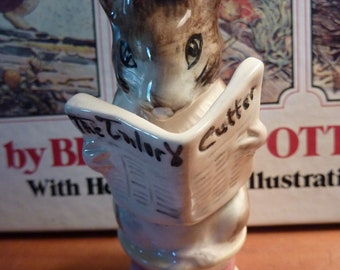 Vintage Beatrix Potter TAILOR OF GLOUCESTER Beswick BP3b England 1948