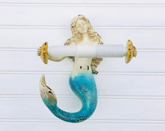Mermaid Bathroom Etsy