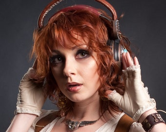 Steampunk cosplay headset (not working)