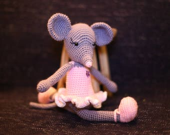 MOUSE BALLERINA PINK