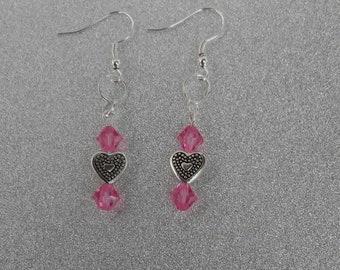Czech beads, earring
