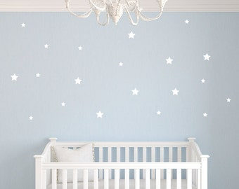 Star Wall Decals - Star Wall Stickers - Nursery Wall Decor