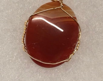 Sardonyx pendant