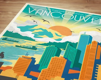 Discover Vancouver Poster