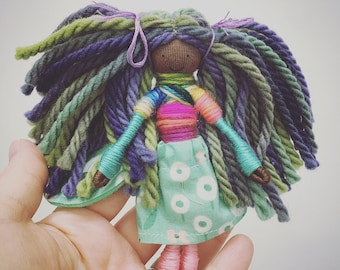 Fairy doll, bendy doll, pipe cleaner doll, small gifts, Waldorf season table, Waldorf inspired play, fairy garden, stocking stuffers