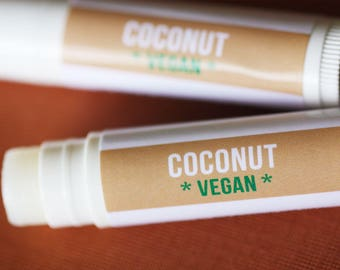 VEGAN Coconut Lip Balm