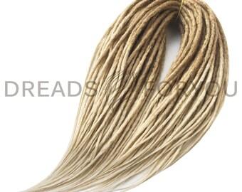 Aviant Crochet Synthetic Dreads x20 or Full Set Single or Double Ended Dreadlocks  Blonde