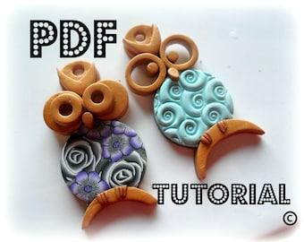 PDF  - Polymer Clay OWLS Tutorial