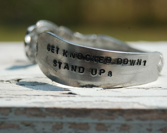 get knocked down 7 stand up 8
