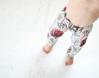 floral leggings, lavender baby leggings, leggings for girls, children's leggings, floral baby leggings, baby girl leggings, baby shower gift