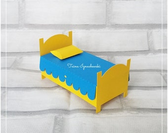 One Cut File -  Bed Box
