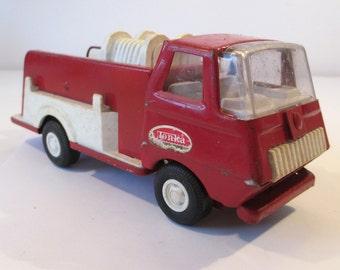 Mini Tonka Toys Fire Truck, pumper, Fireman toy, firefighter toy, pressed steel