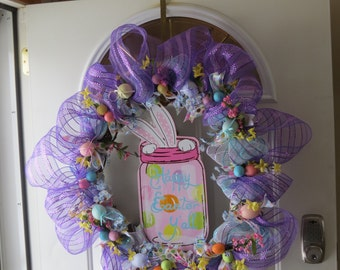Springtime Easter Wreath