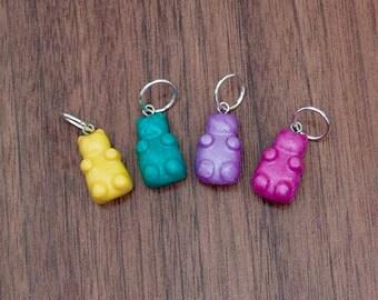 Set of handmade Gummi Bear Stitchmarkers