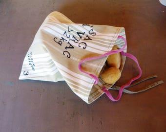 Recycled cotton - Bulk shopping bag reusable