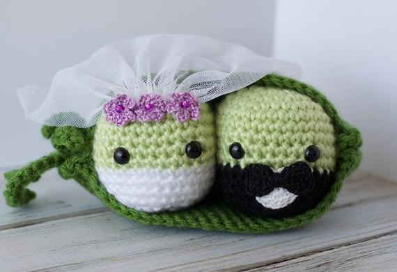 Amigurumi Magazine Pdf : Crochet peas in a pod pattern amigurumi pdf instant download