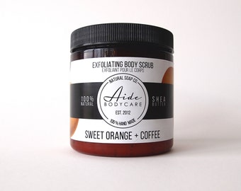 Orange douce & Coffee Scrub, gommage du corps