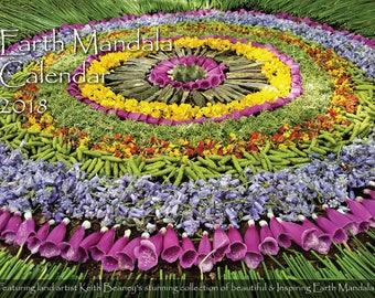 Earth Mandala Calendar 2018