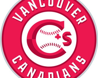 round Vancouver Canadians decal