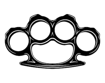 Brass knuckles, Knuckles, SVG,Graphics,Illustration,Vector,Logo,Digital,Clipart