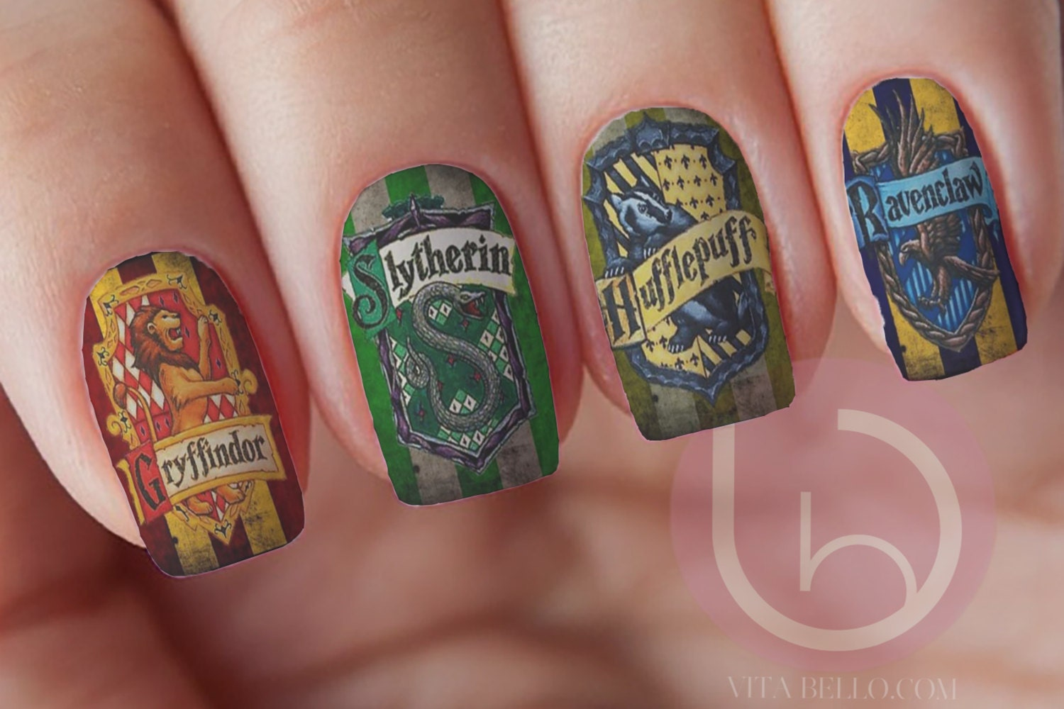 Wizard Crest Nail Waterslide Decal Nail Stickers Nail Art