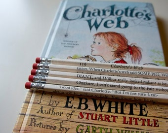 Charlotte's Web Wrapped Pencil Set