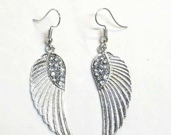 Aretes de alas de Ángel