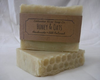 All Natural Oats & Honey Soap