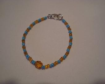 Blue Cat bracelet