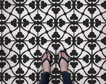 Amina Tile Allover Stencil - Cement Tile Stencils - DIY Moroccan Tiles - Reusable Stencils for Home Decor