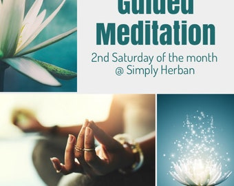 Guided Meditation Class at Simply Herban, Youngsville, NC