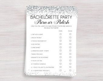 Never have i ever bachelorette party drinking game hens porn or polish bachelorette party games hens party activity silver bachelorette ideas solutioingenieria Choice Image