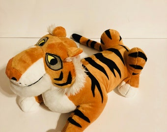 Disney's Aladdin Raj princess jasmines tiger plush toy stuffed animal