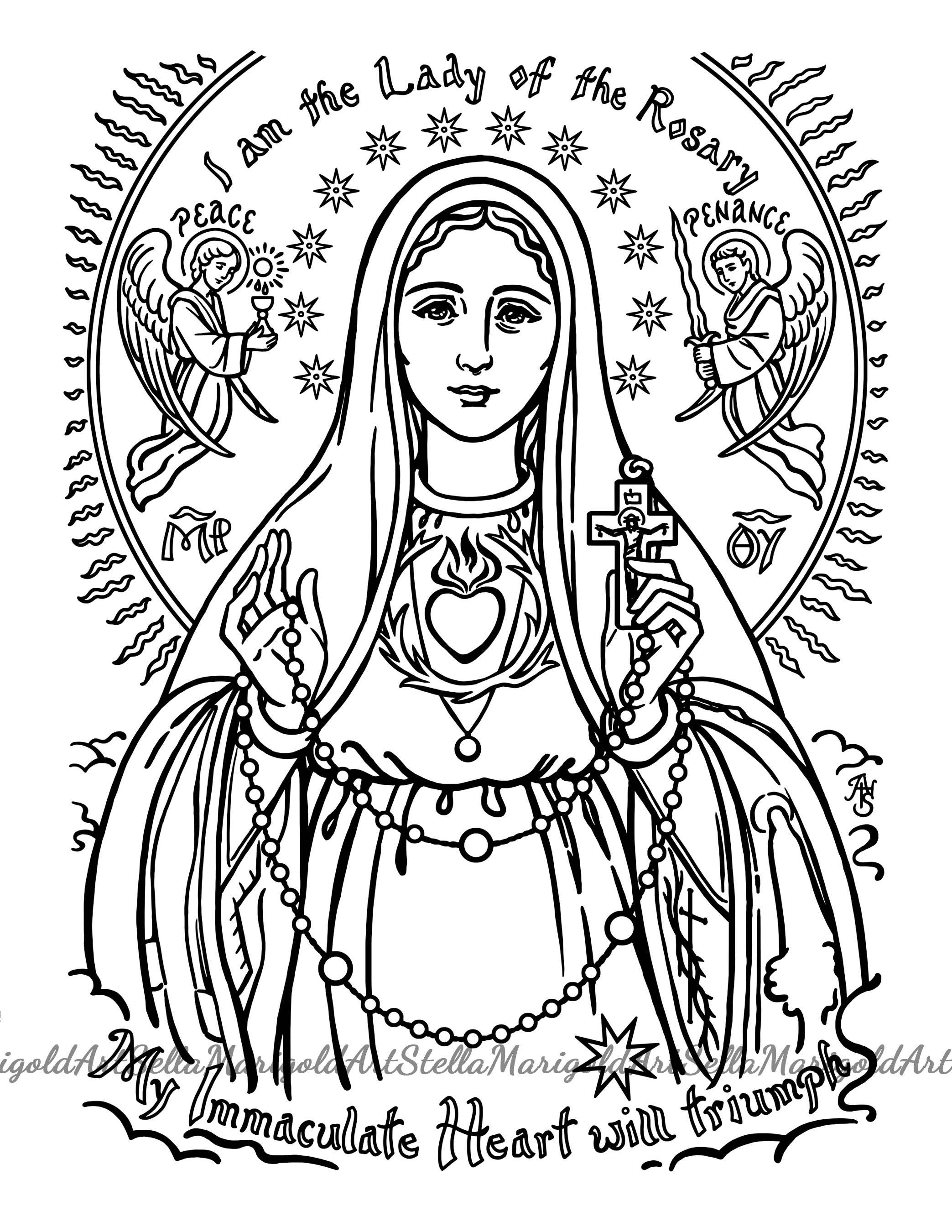 Nice Saint Juan Diego Coloring Pages Mold - Resume Ideas - namanasa.com