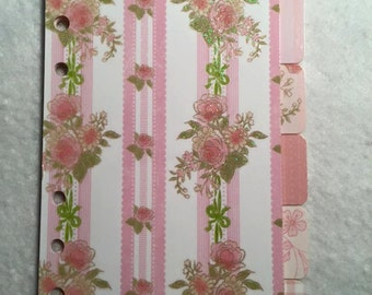 Personal Size Planner Dividers
