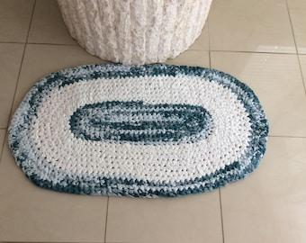 Hand made rag rug