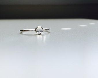 Rin - custom cabochon ring -