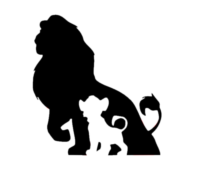 Simba Decal Disney Decal Disney Simba From Lion King